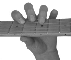 Fretting the First Note of a Bend