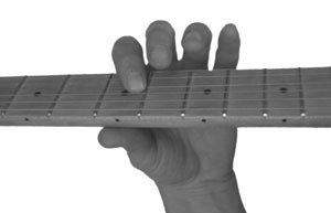 Fretting the First Note of a Slide
