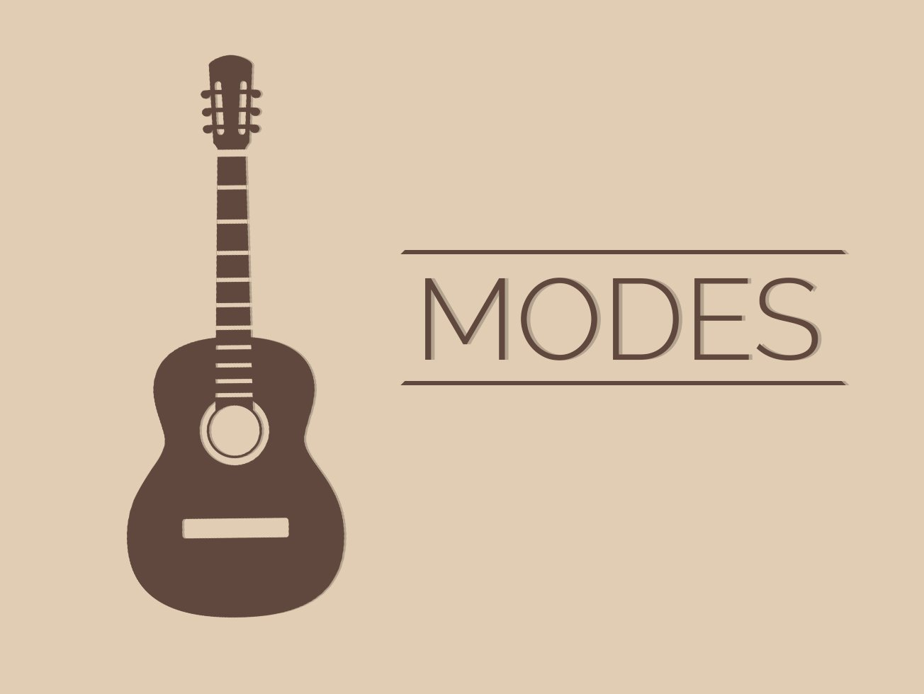Modes Guitar Lesson World
