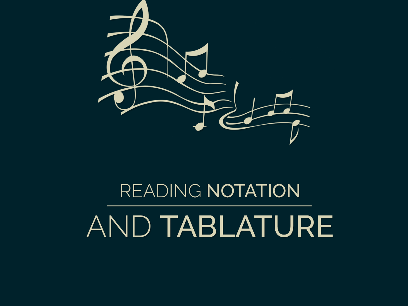 Reading Notation And Tablature Guitar Lesson World How To Read A Chord Box Diagram