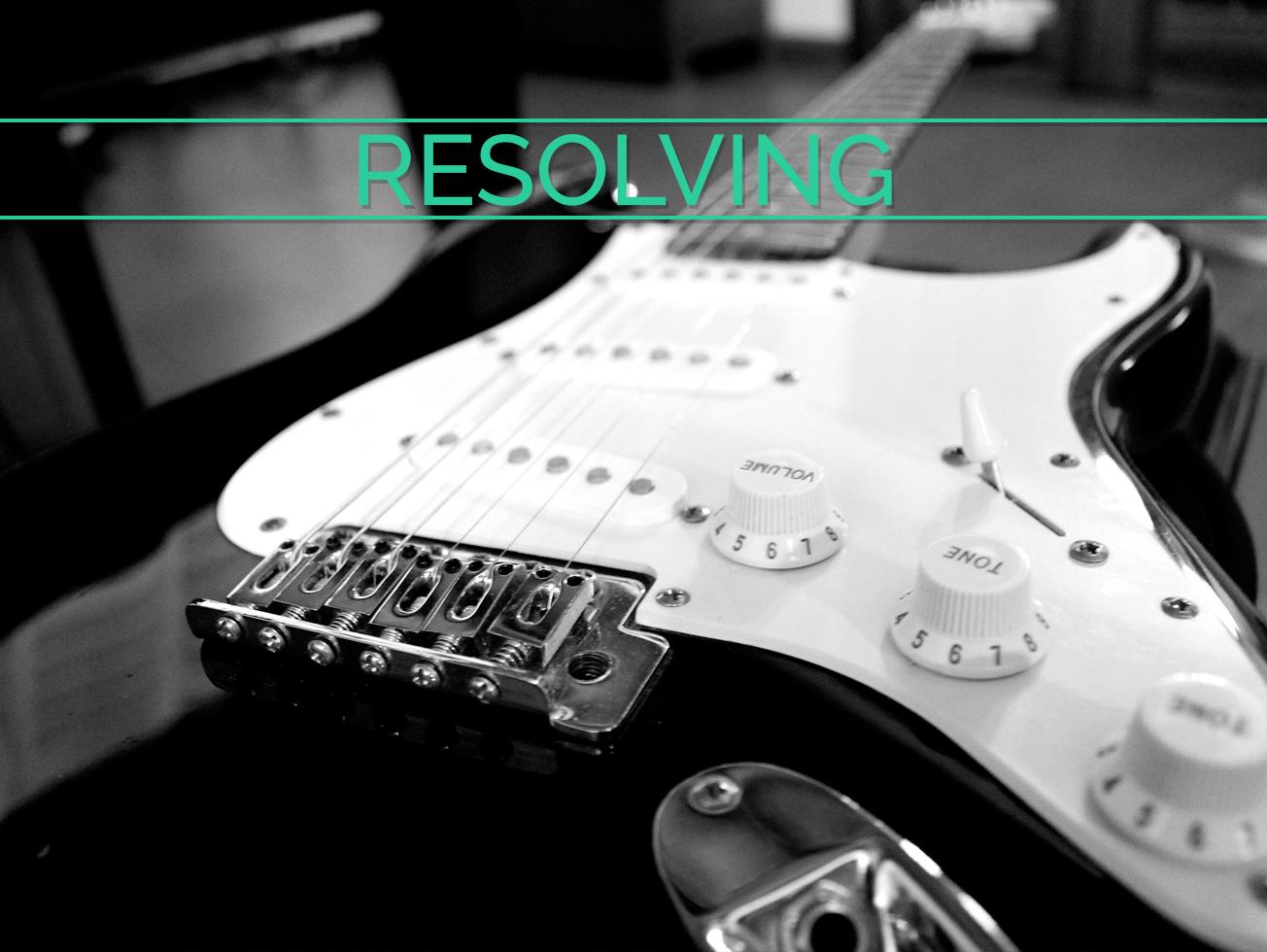 Resolving Guitar Lesson World