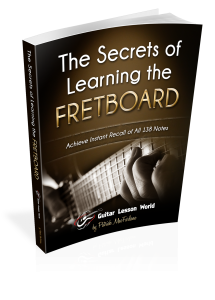 The Secrets of Learning the Fretboard Book