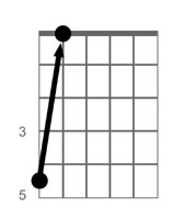 Tune the 5th string from the 5th fret of the 6th string.