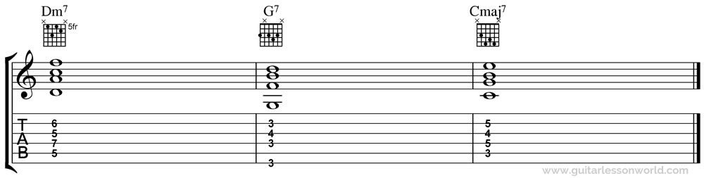 ii-V-I Chord Progression