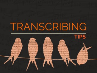 Transcribing Lesson Feature Image