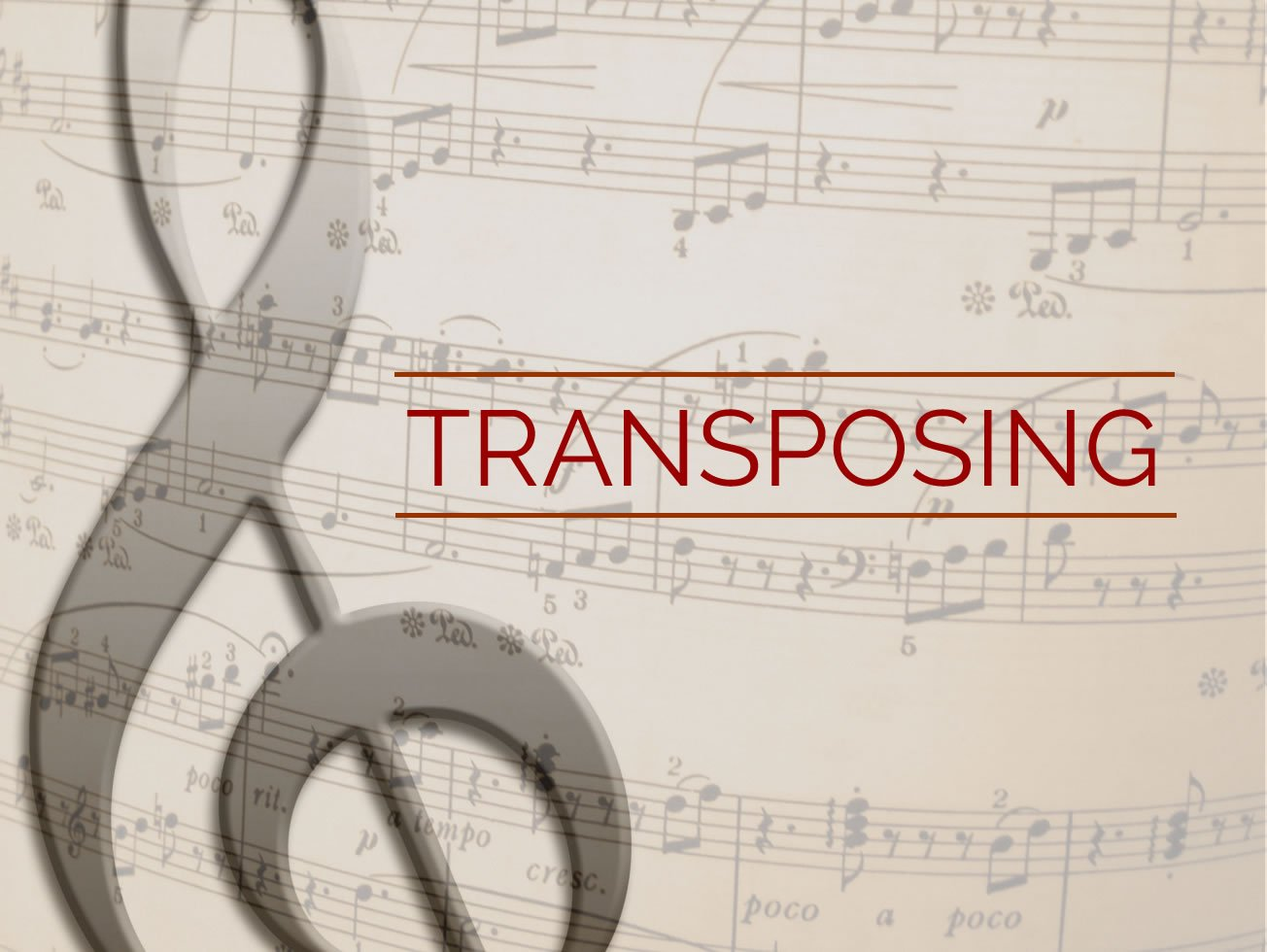 Transposing Guitar Lesson World