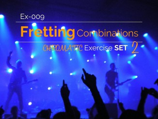 Ex-009 Fretting Combination Chromatic Exercise Set 2