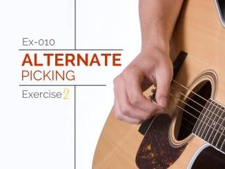 Ex-010 Alternate Picking Exercise 2 Featured Image