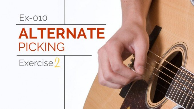 Ex-010 Alternate Picking Exercise 2 Featured Image
