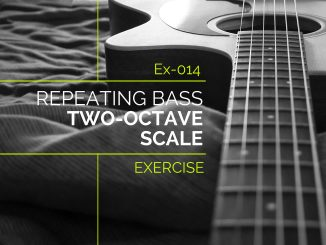 Ex-014 Repeating Bass Two-Octave Scale Feature Image