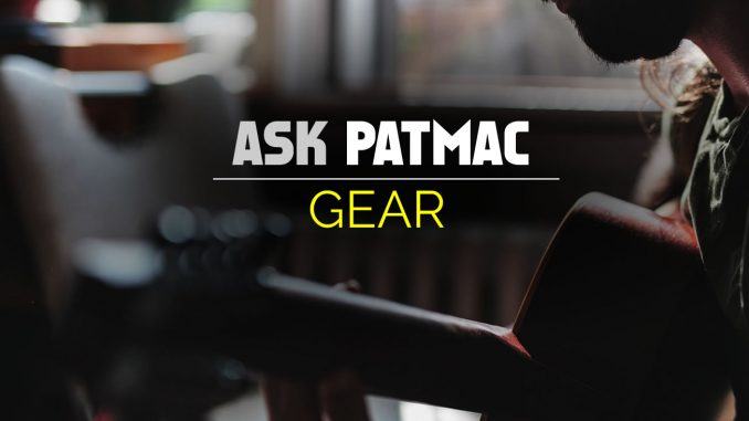 Guitar Gear Questions are Answered