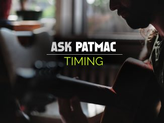 Guitar Timing in Music