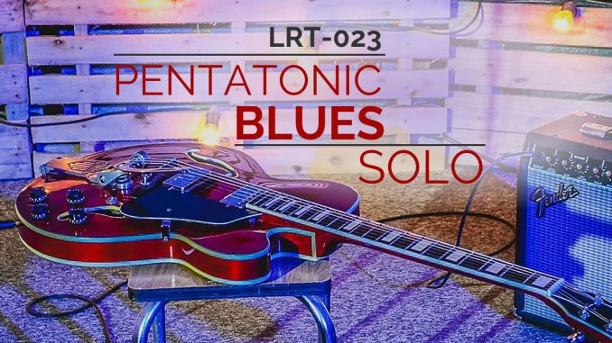 Pentatonic Blues with backing track, audio, and more.