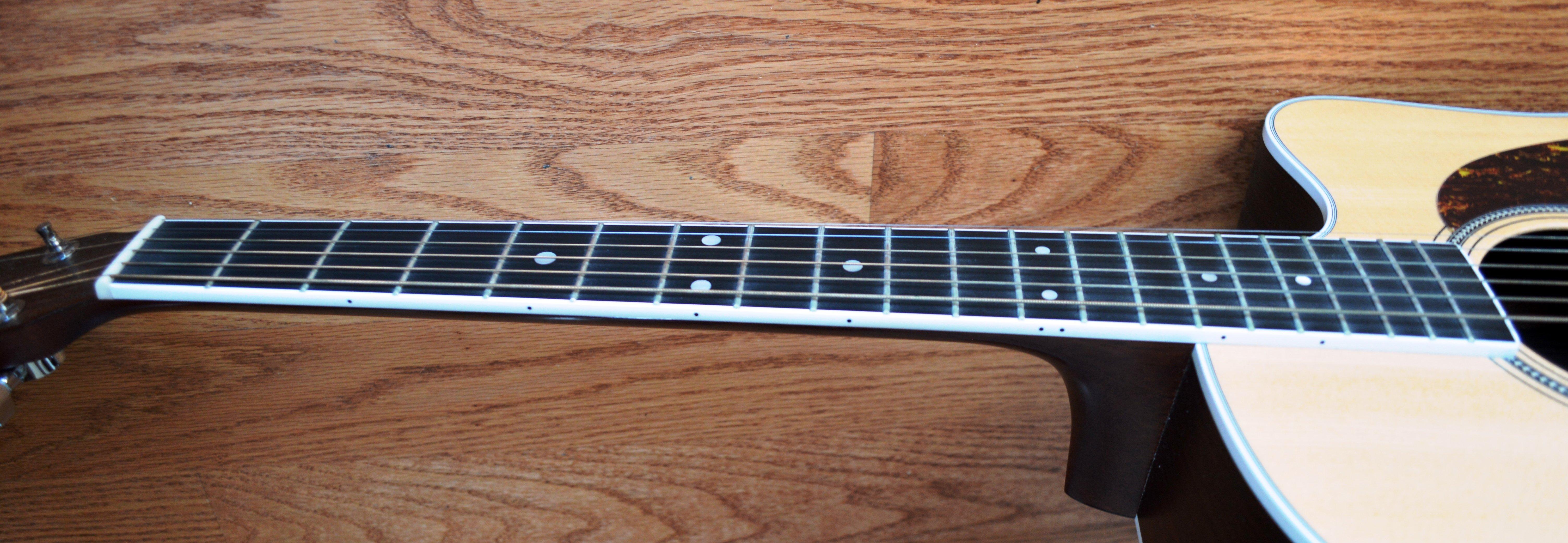 Martin Acoustic Guitar Fretboard