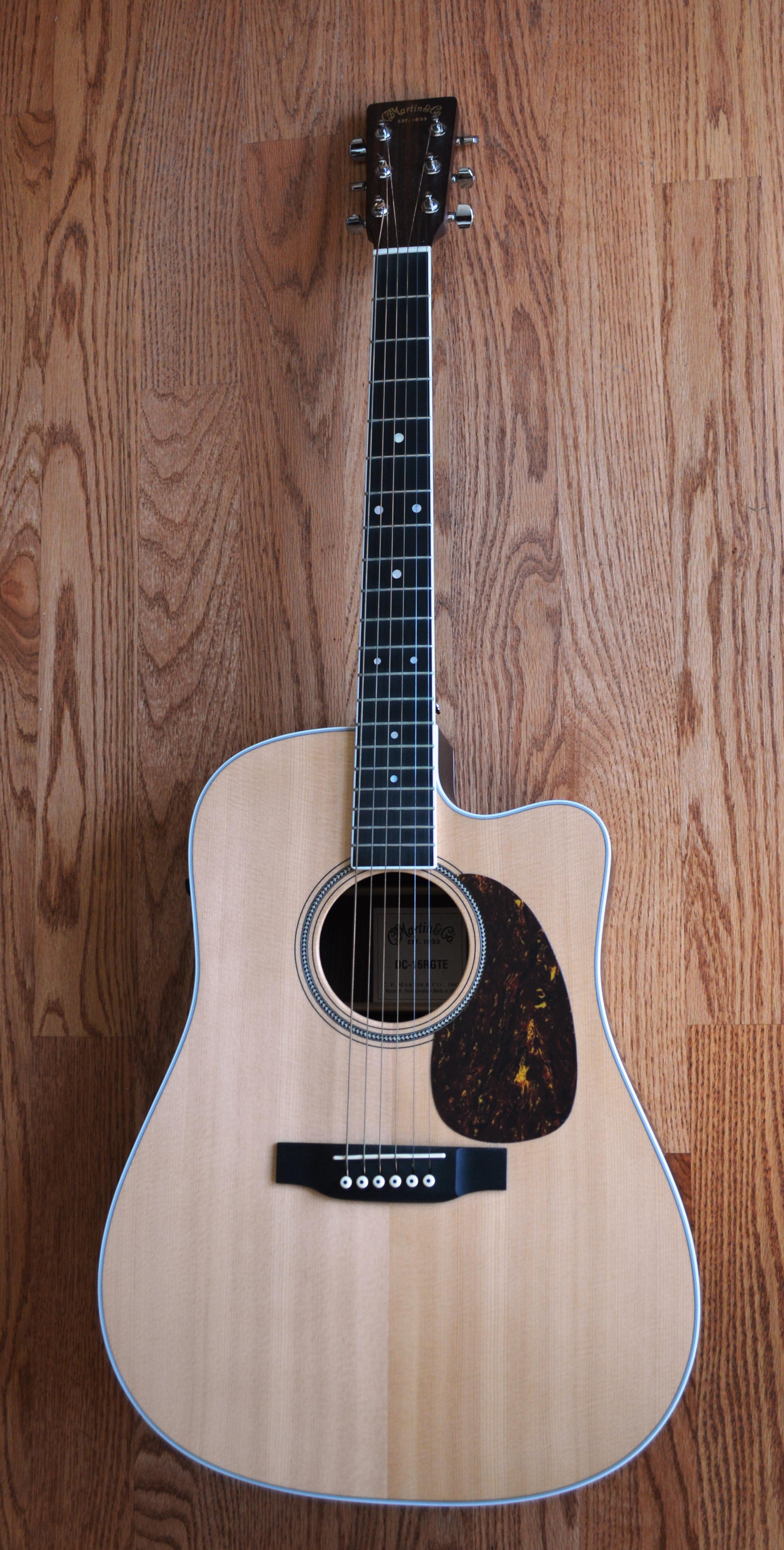 Martin D16-RGTE Acoustic Dreadnought Guitar