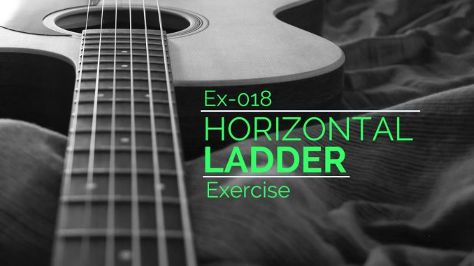 Learn the fretboard with Horizontal Ladder Exercises
