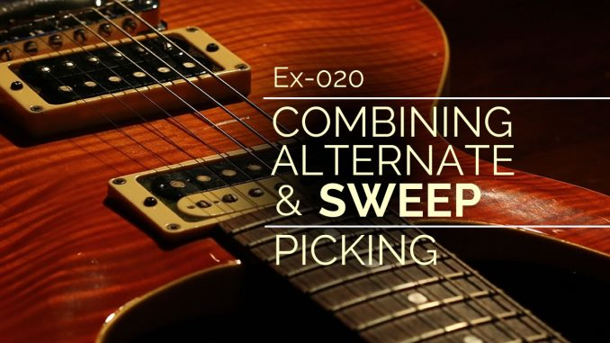 Feature Image for Alternate and Sweep Picking Exercise