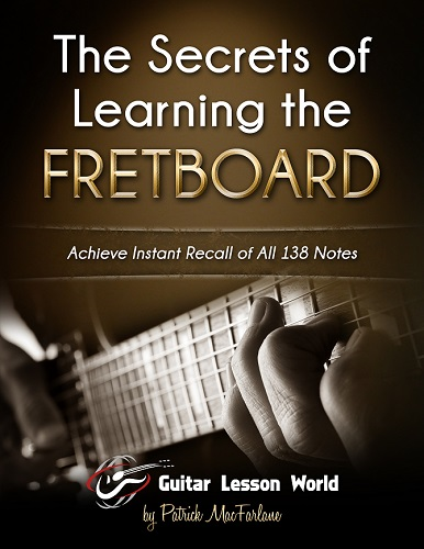 the secrets of learning the fretboard guitar lesson world. Black Bedroom Furniture Sets. Home Design Ideas
